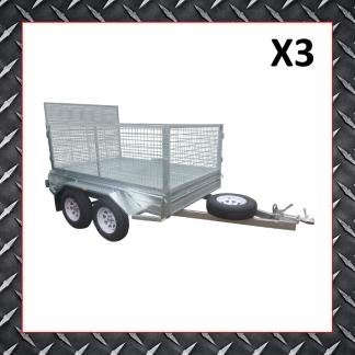 10x6 Trailer X3