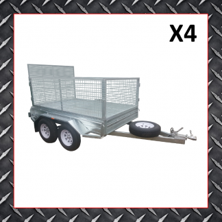 10x6 Trailer X4