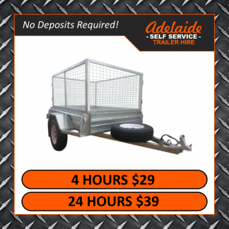 6x4 Cage Trailers (Glengowrie)