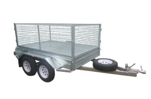 8x5 Cage Trailers