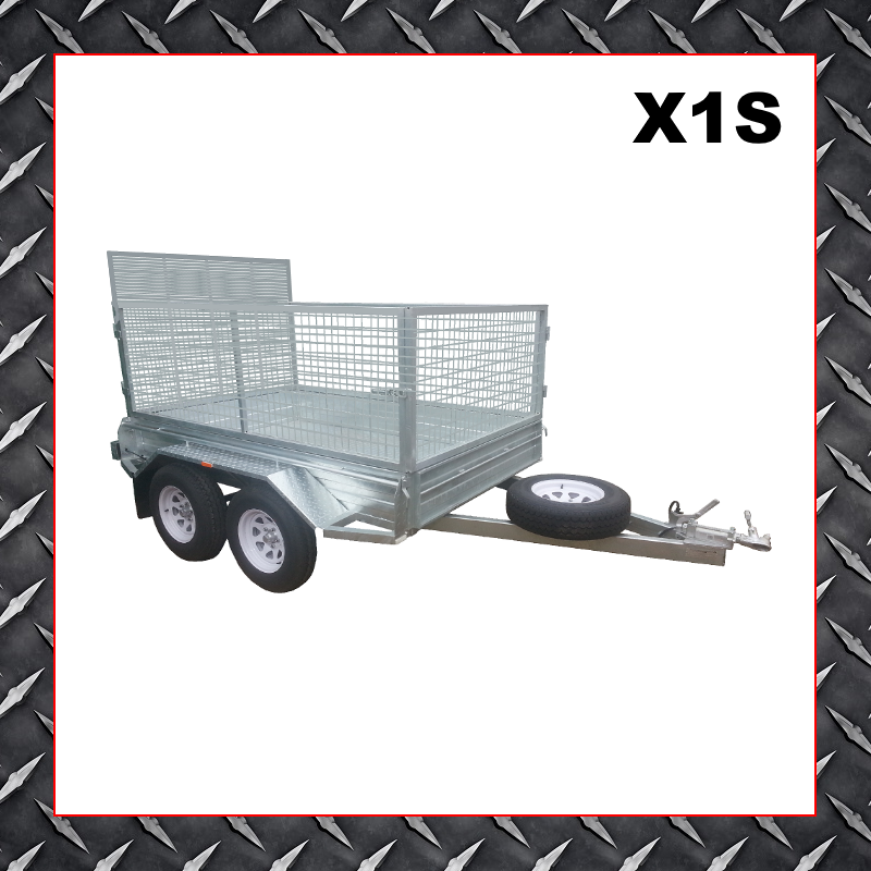 10x6 Cage Trailer X1s Adelaide Trailer Hire