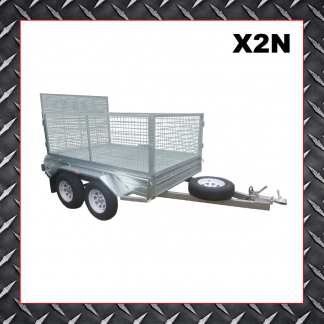 Trailer Hire 10x6 Caged Trailer X2N