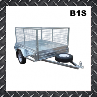 Trailer Hire 7x5 Caged Trailer B1s