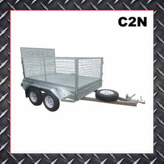 Trailer Hire 8x5 Caged Ramp Trailer C2N