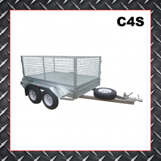 Trailer Hire 8x5 Caged Trailer C4S