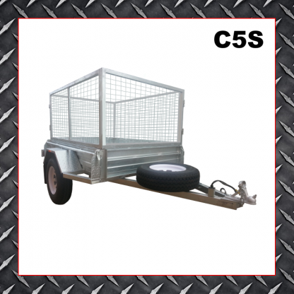 Trailer Hire 8x5 Caged Trailer C5S