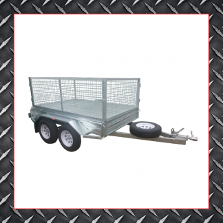 Trailer Hire 8x6 Caged Trailer