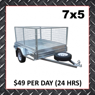 7x5 Cage Trailer (Glengowrie)