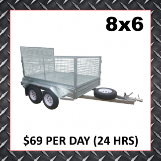 8x6 Cage Trailers (Glengowrie)