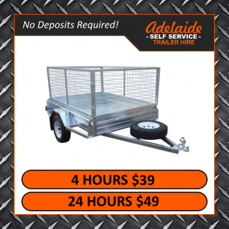 7x5 Cage Trailers (Glengowrie)