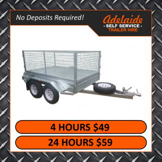8x5 Cage Trailers (Glengowrie)