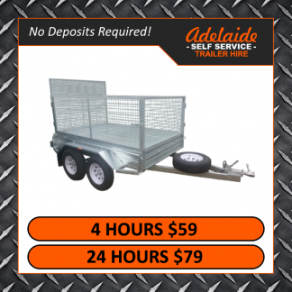 10x6 Cage Trailers (Glengowrie)