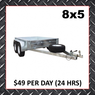 8x5 Box Trailers (Glengowrie)