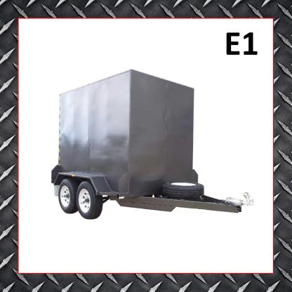 8x5 Enclosed Trailer E1