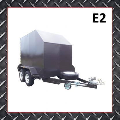 8x5 Enclosed Trailer E2