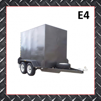 8x5 Enclosed Trailer E4