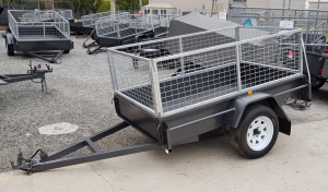 8×5 Cage Trailer – One Way