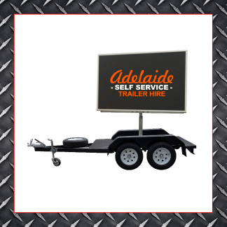 LED Sign Trailers (Burton)
